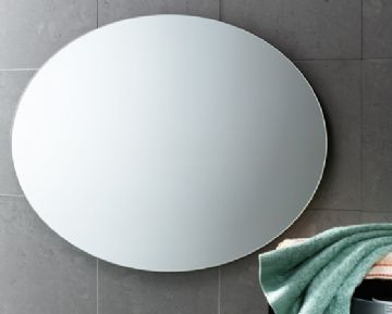 Gedy Oval Polished Edge Mirror - 2575